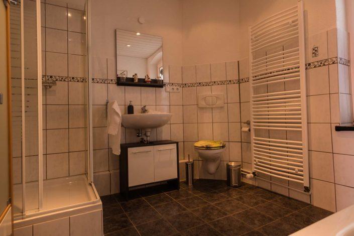 Badezimmer Ferienwohnung Eschwege